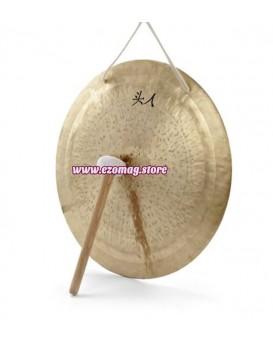 Гонг със чукче. Лечебен Wind Gong. Размери 30 см.