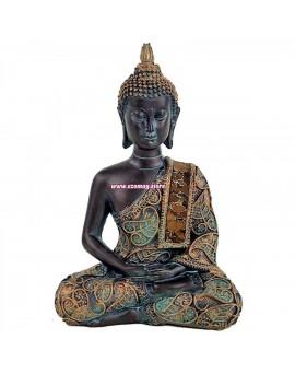 """Статуетка """"Медитиращ Буда"""" - античен стил"""