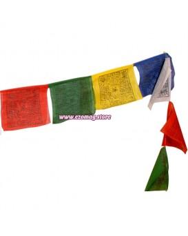 25 Тибетски молитвени флагчета 5 метра 14 х 19 см